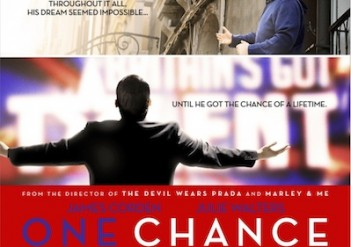One Chance the movie released in US!