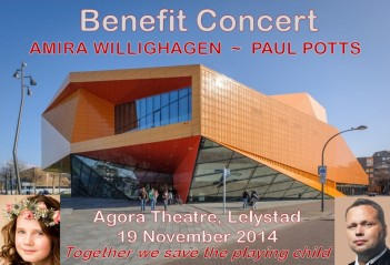 Amira Willighagen Benefit Concert